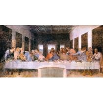 Lienzo, La Última Cena. Leonardo Da Vinci. 75 X 150 Cm