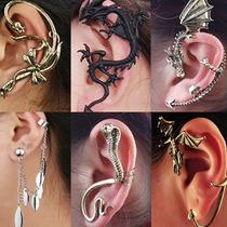Ear Cuff Piercing Arete Gotico Vintage. Lote 5 Piezas