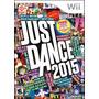 Just Dance 2015 Nintendo Wii Nuevo Blakhelmet E