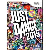 Just Dance 2015 Nintendo Wii Nuevo Blakhelmet Sp