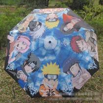 Paraguas Anime Naruto Uzumaki/sasuke/itachi/gaara/sakura/kak