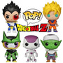 Funko Pop Dragon Ball Z Goku Picoro Freezer Cell Vegeta
