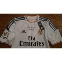 Jersey Real Madrid 2013-14 Despedida Raul Ronaldo Original