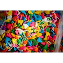 *confeti Comestible San Valentin Corazon ,cake Pops Fondant*