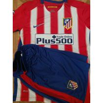Uniforme.de Futbol Atletico De Madrid Olayera Y Short