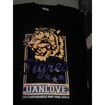 Playera Tigres Uanl Incomparables