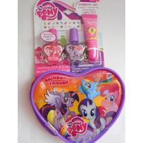 Set Cosmetico Uñas, Brillos My Little Pony! Importado
