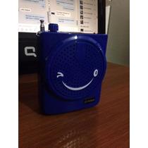 Megafono Altavoz Multifuncion Microsd/microfono/radio/aux