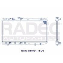 Radiador Toyota Tercel 91-95 1.5 Lts Ml4 Estandar