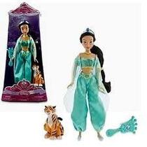 Pareja Jazmin Y Aladin De Lujo De Disney Store Unica Pz