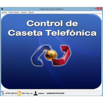 Software Tarificador De Caseta Telefonica (auxiliar)