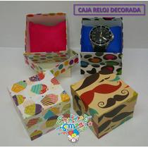 Caja Para Reloj Con Cojín Varios Modelos Y Colores