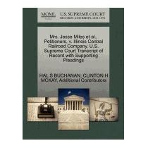 Mrs. Jesse Miles Et Al., Petitioners, V., Hal S Buchanan