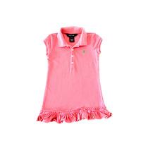 Vestido Polo Infantil Ralph Lauren Talla 2/2t