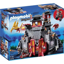 Playmobil 5479 Castillo D Dragon Asiatico Medieval Retromex