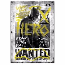 Batman Dawn Of Justice Wanted Hero Mightyprint Wal Art Print