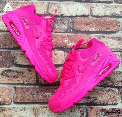 air max rosa fosforescente