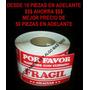 Etiqueta Fragil Proteccion Paquete 100 Piezas Empaque Envio