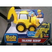 Bob El Constructor Builder Talking Scoop 20 Frases