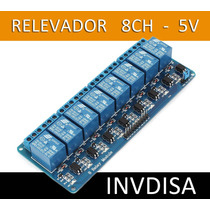Relevador De 8 Canales Optoacoplado De 5v Arduino, Pic, Atme