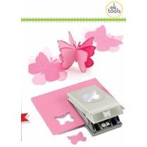 Scrapbook Perforadora Mariposa Papel Recuerditos Punch Ek