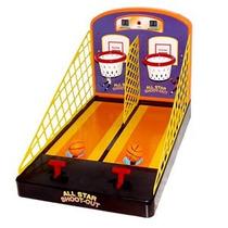 Mini Juego De Basketball Spring Action All Star Shoot Out