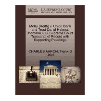 Mcky (keith) V. Union Bank And Trust Co. Of, Charles Aaron