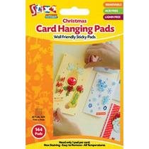Tarjeta Hanging Pad - Pads Navidad 7mmx 7mmx 1mm 144 Per