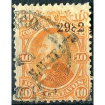 1845 Clásico Hidalgo Scott #108 Maravatío #2982 10c Usado