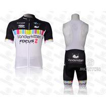 Uniforme De Ciclismo Vanderkitten 2014, Jersey + Short Bib
