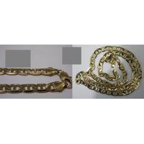 Bonita Cadena De Oro Laminado De 14k