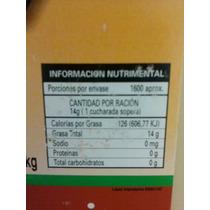 Aceite Para Elaborarcion Palomitas Sabor Mantequilla