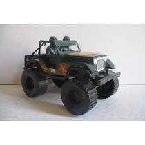 Jeep Militar - Carrito Juguete Escala Camion Modelo Antiguo