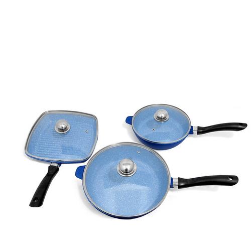 Bater a de cocina profesional sapphire con utensilios for Bateria cocina profesional