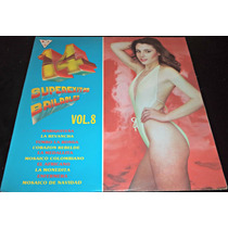 Lp Super Exitos Bailables Vol 8 Importado De Colombia