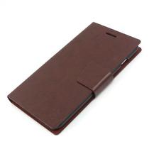 Iphone 6 6sfunda Flip Iman Al Cierre En Piel +stylus Pluma