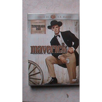 Maverick Box Set Dvd Temporada Uno 7 Dvds 1333 Minutos