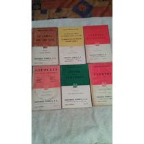 Libros Colección Porrúa, Sófocles Anton Chejov.