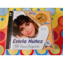 Estela Nuñez Cd 40 Temas Originales.2000 2cds