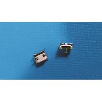 Micro Usb Jack De 5 Pin 4 Patas Gran Cuerno De Buey(lote)
