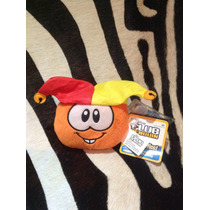 Club Penguin Nuevo Original Puffles Peluchedisney Con Moneda