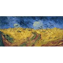 Lienzo Tela Pintura Vincent Van Gogh Francia 1890 44 X 90 Cm
