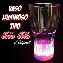 40 Vasos Iluminado,vaso Luminosos, Vaso De Leds Rgb Glow