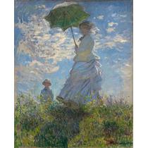 Lienzo Tela Claude Monet 1875 Impresionismo Francia 62x50 Cm