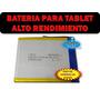 Bateria Pila Universal 3.7 V Tablet Android Alto Desempeño