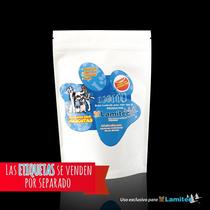 Bolsa Para Alimento Mascotas Sup P. Blanco,cap.454g,$x100pz