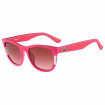 Lentes Gafas De Sol Color Block Para Mujer Lacoste L739s