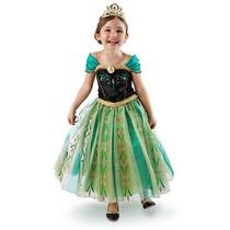 Vestido Original Anna Frozen Disney Store De Lujo