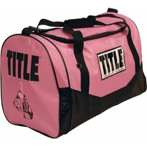 Maleta Title Boxing Individual Color Rosa Box Mma Girls Pink