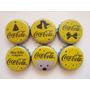 Coleccion De Corcholatas Tapas Coca Cola - 6 Diferentes
